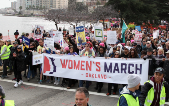 "Women's March Oakland: ""Hear our Vote!"" March"
