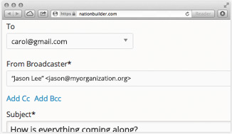 Host email on your own domain