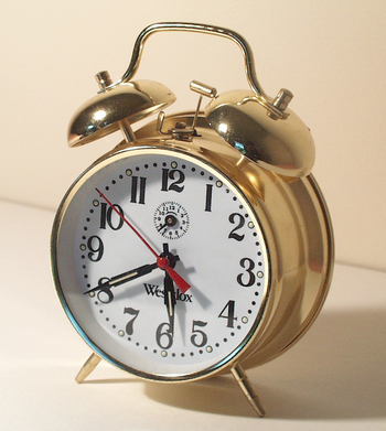 MorgueFile Alarm Clock