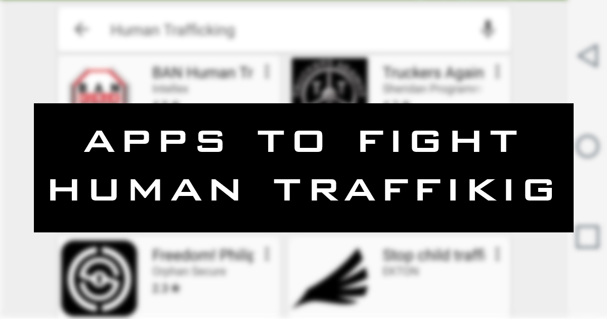If you're like me you want to do something about trafficking but with the  busyness of life you need tools that make it easy to do. We've done some  research ...