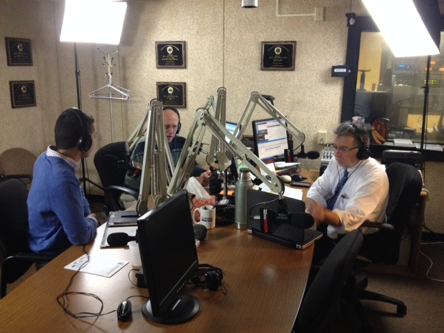 Third Interview with On the Mark Radio Show