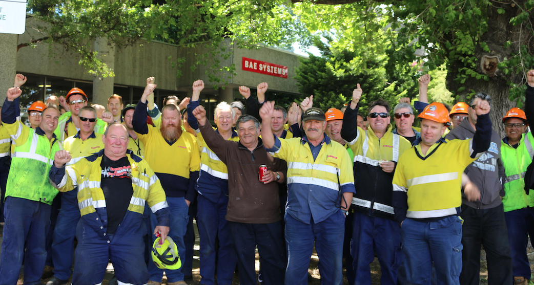 Workers demand State secure Willy site