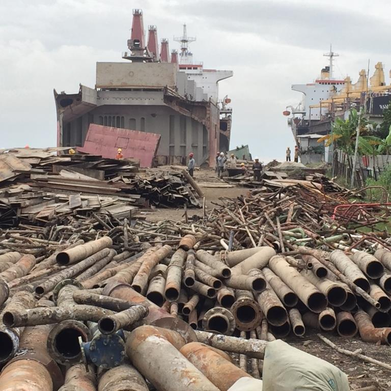 Unions demand action on ship breaking slavery