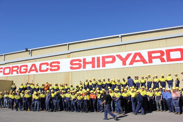 Shipyard Empty Under Turnbull's Watch