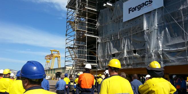 Forgacs yard shut on Turnbull's watch