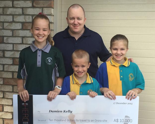 Safety hero wins $10,000 award