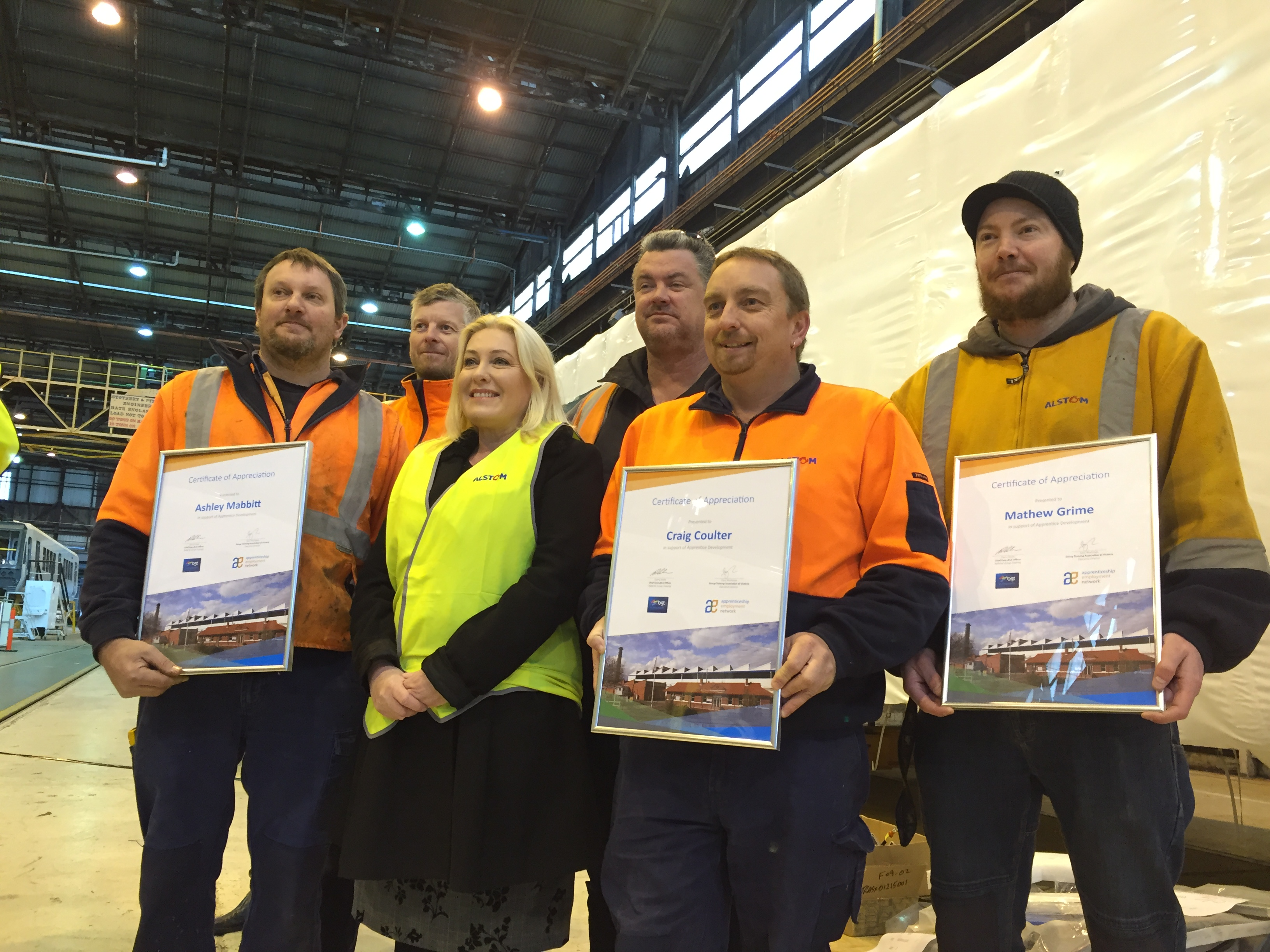 Members lauded for helping future workers
