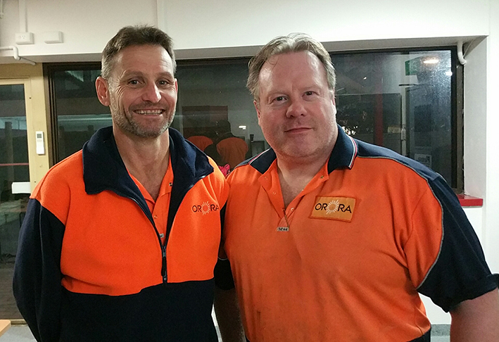 AMWU national links help Orora bargaining team