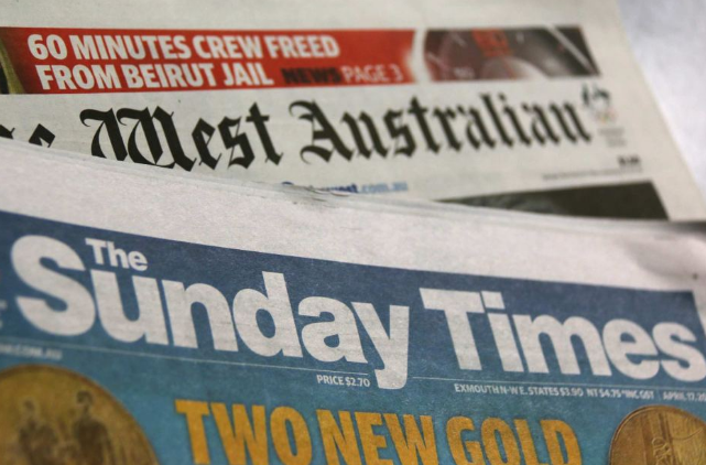 Sunday Times roast ends print freedom in WA