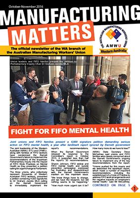Manufacturing Matters - October/November 2016
