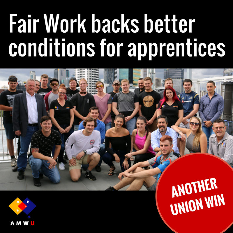 Another Win for All Trades Apprentices!