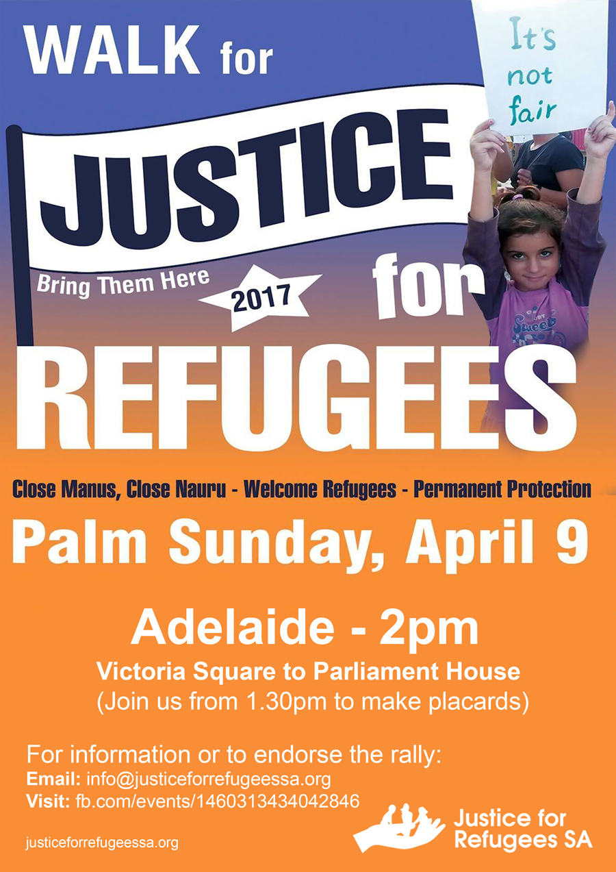Palm Sunday Rally April 9