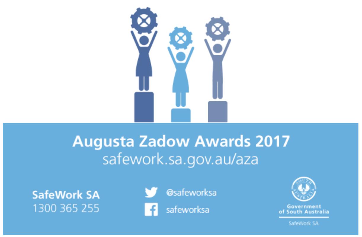 Augusta Zadow Award 2017