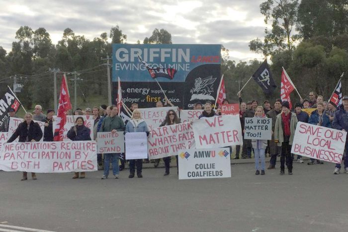Griffin Coal refuse to accept Fair Work Commission recommendation