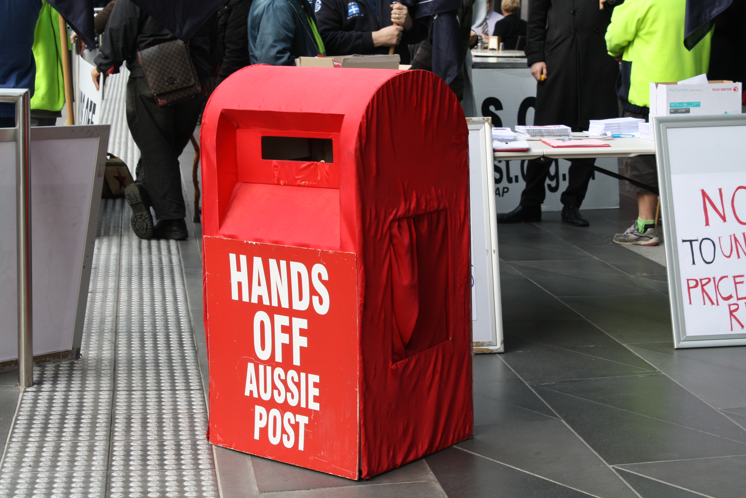A message for Canberra: Hands off Aussie Post