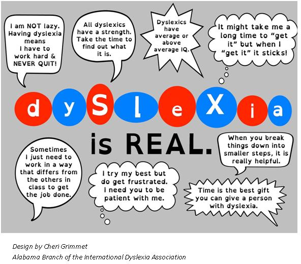 Dyslexia awareness and why it matters - State Representative Andrew O ...