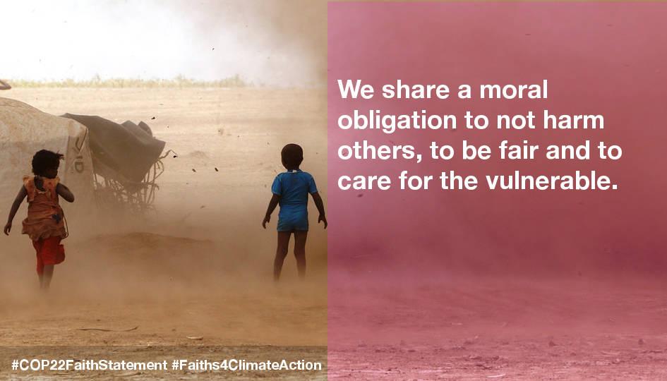 COP22 Statement