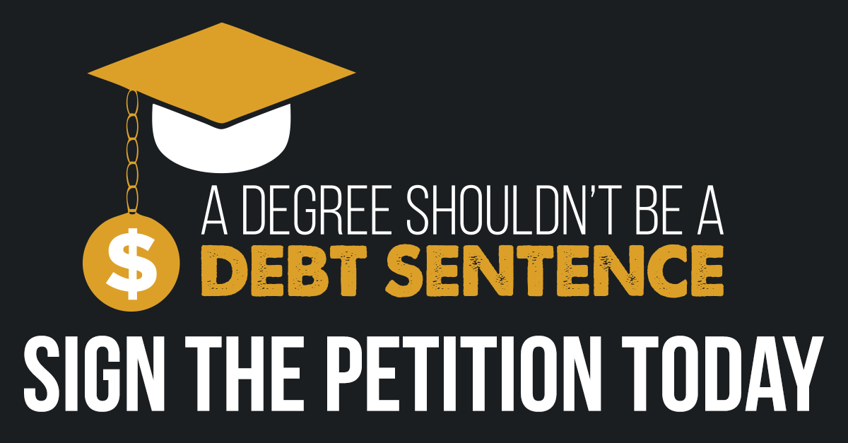 No Debt Sentence Petition - Australian Labor Party