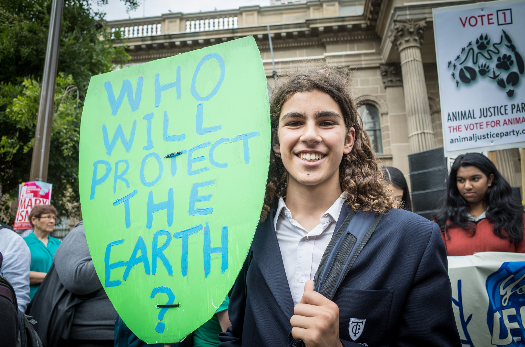 Why this high school student is going to Power Shift