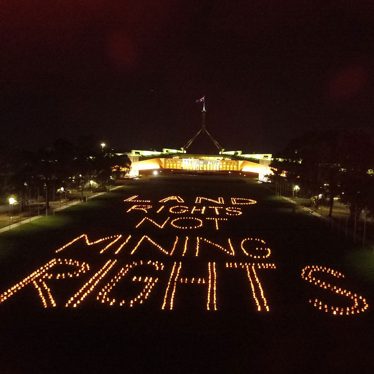 We have to keep fighting for Land Rights not mining rights