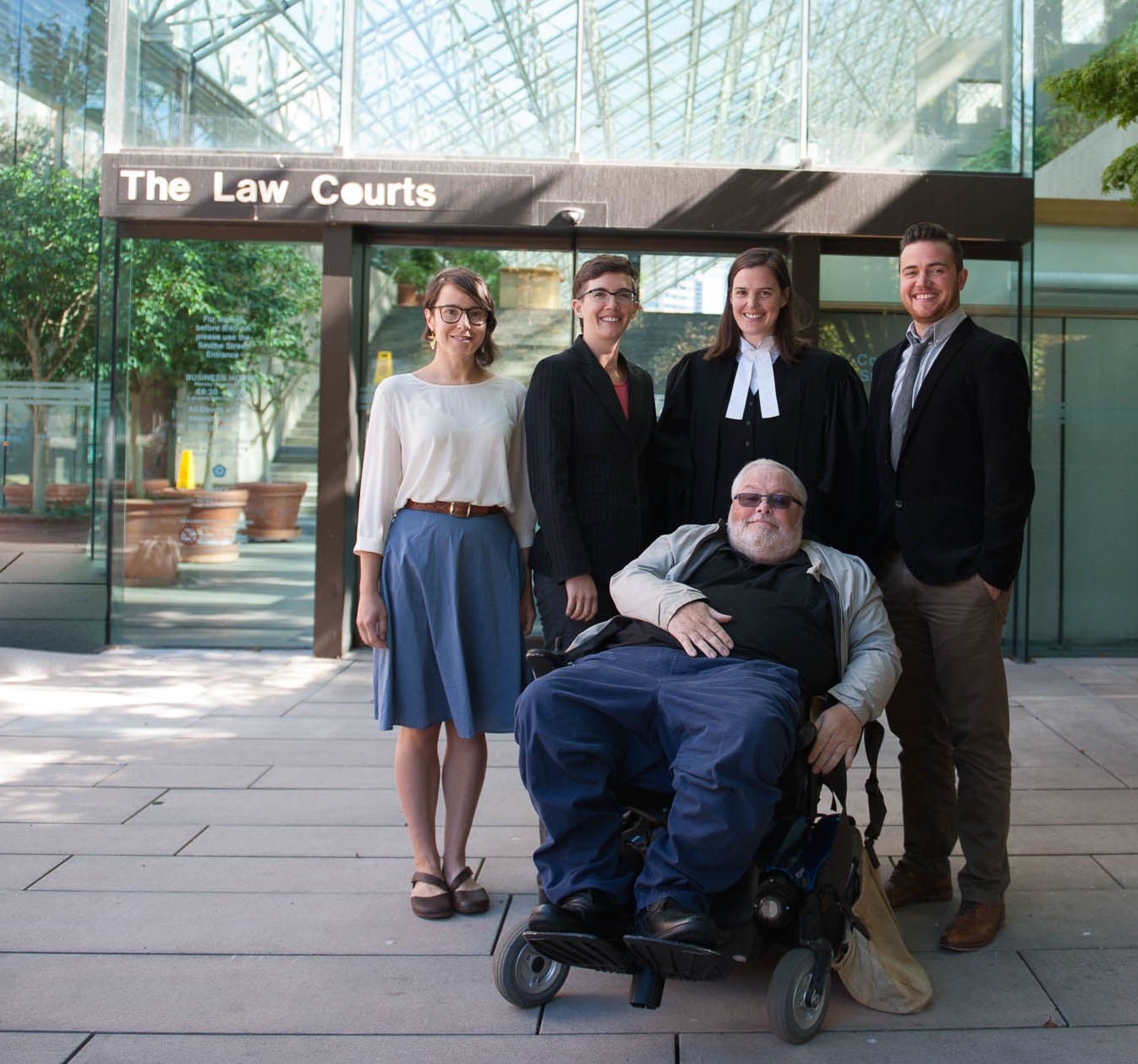 Intervenor group gives opening statements at BC Supreme Court