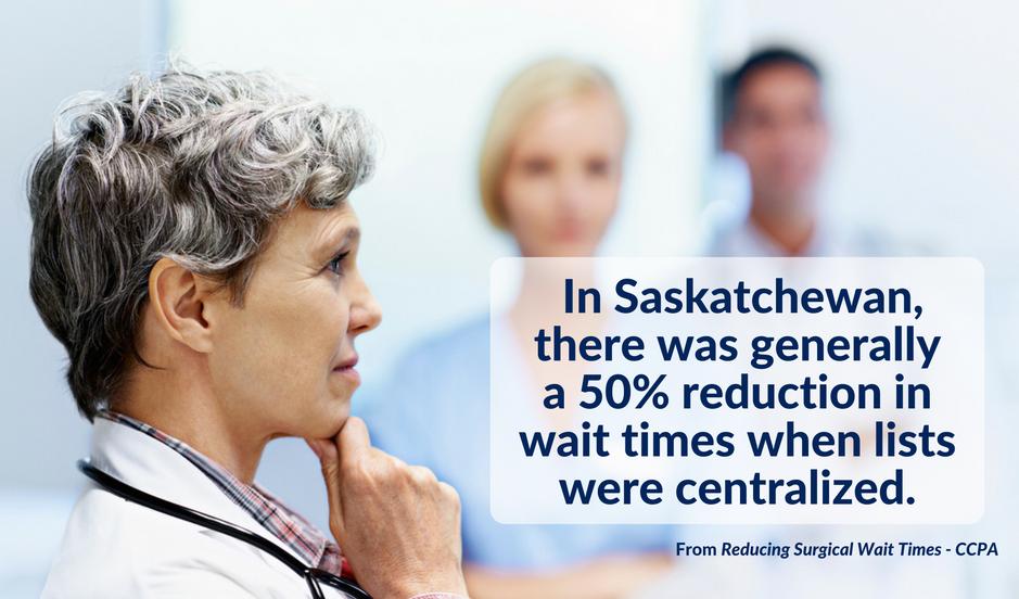 Saskatchewan cut wait times for targeted procedures in half