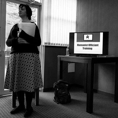 Autumn Reinhardt-Simpson leads Humanist Officiant Training