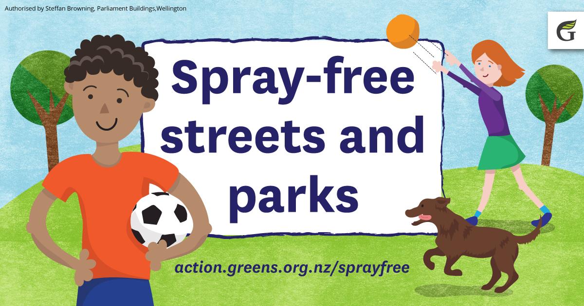 Spray free streets & parks