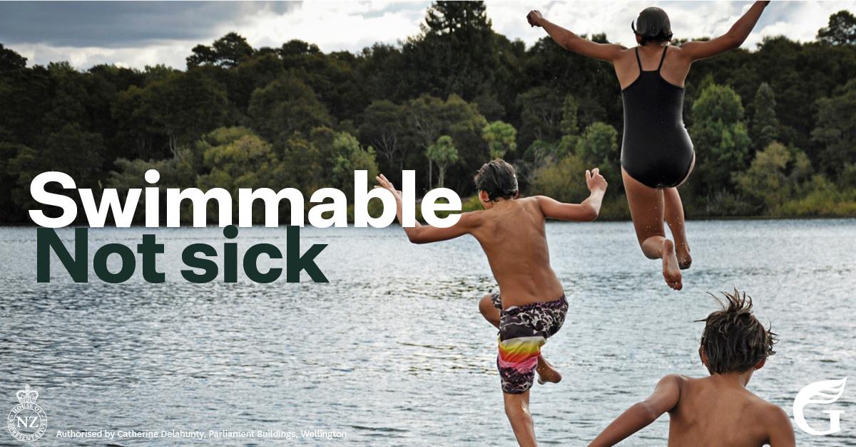 Swimmable Rivers - Tiakina ngā wai