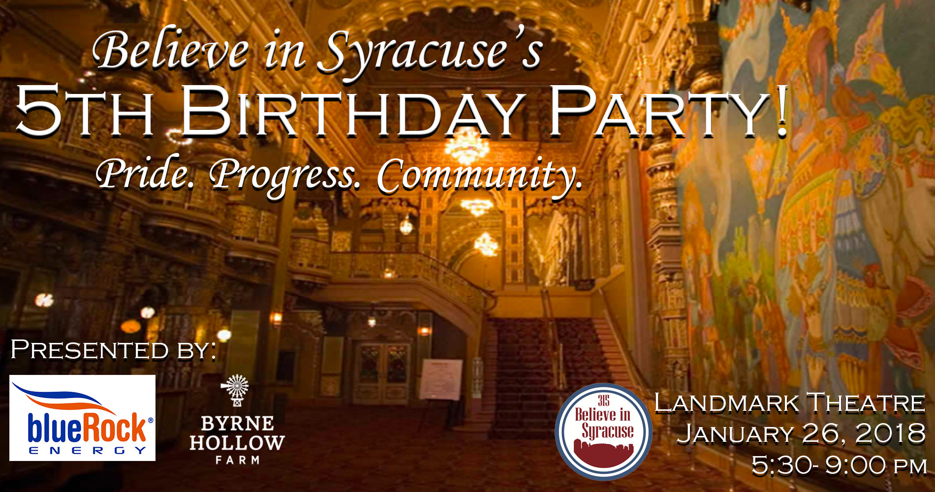 Believe in Syracuses 5th Birthday Party