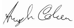 Aryeh Signature