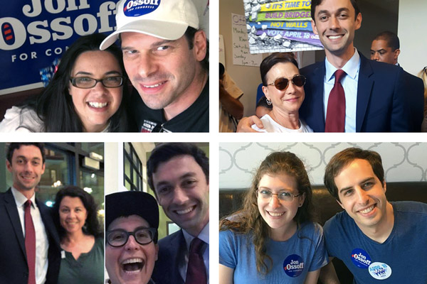 Atlanta leaders volunteering for Jon Ossoff