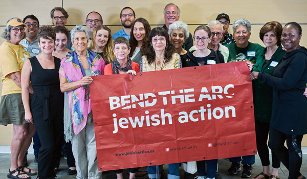 Participants of our #JewishResistance training in LA