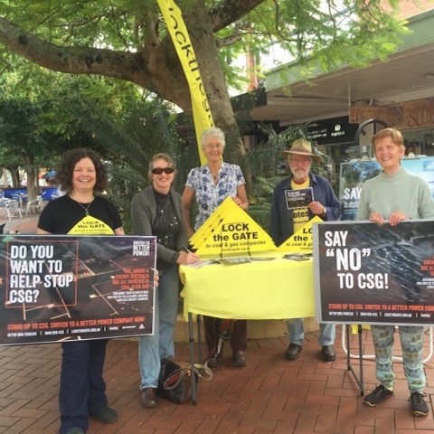 Campaign to ditch CSG-supporting energy companies