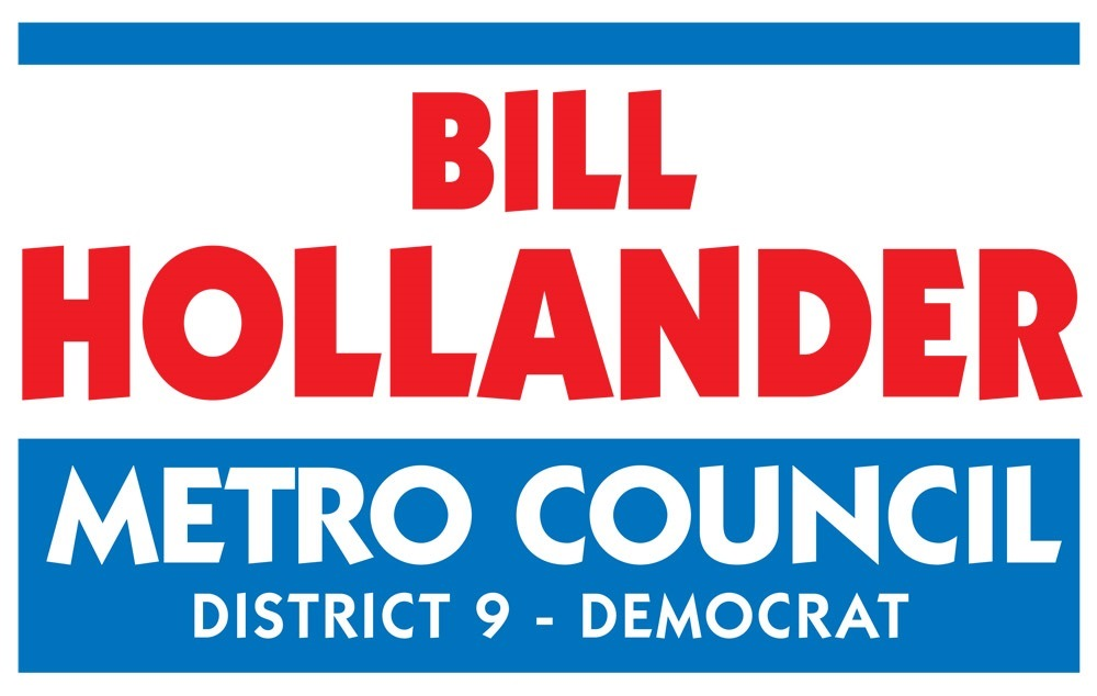Bill Hollander for Metro Council