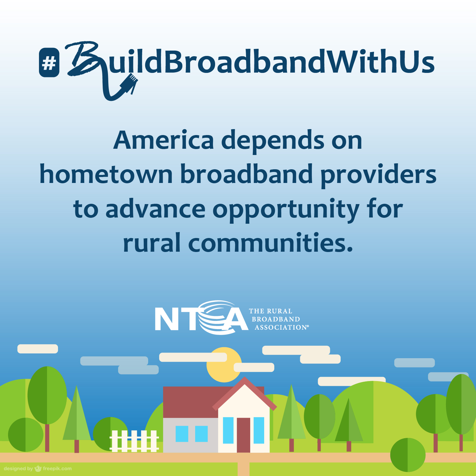 America depends on hometown broadband providers to advance opportunity for rural communities.