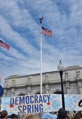 Democracy Spring - Day 1
