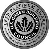 LEED Platinum badge