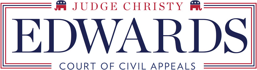 Elect Judge Christy Edwards for Court of Civil Appeals