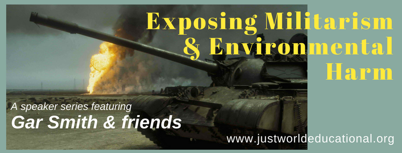 Exposing Militarism & Environmental Harm @ Berkeley Fellowship of Unitarian Universalists | Berkeley | California | United States
