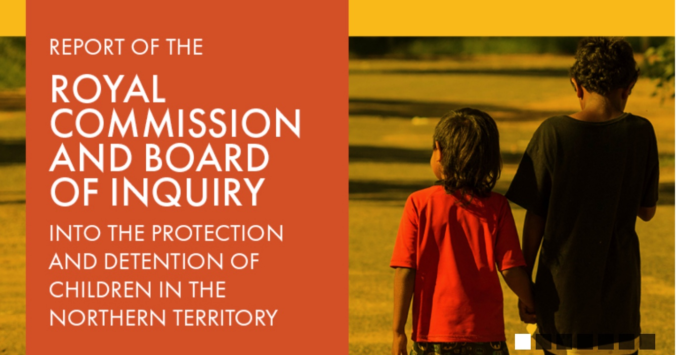 Royal Commission Report Released