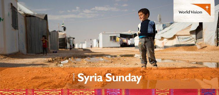 World Vision Australia's Syria Sunday Resources