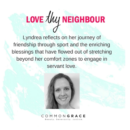 For the love of Sport & my Muslim Neighbour