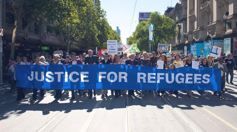 Walk for Refugees in Melbourne