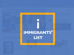 Immmigrants'  List