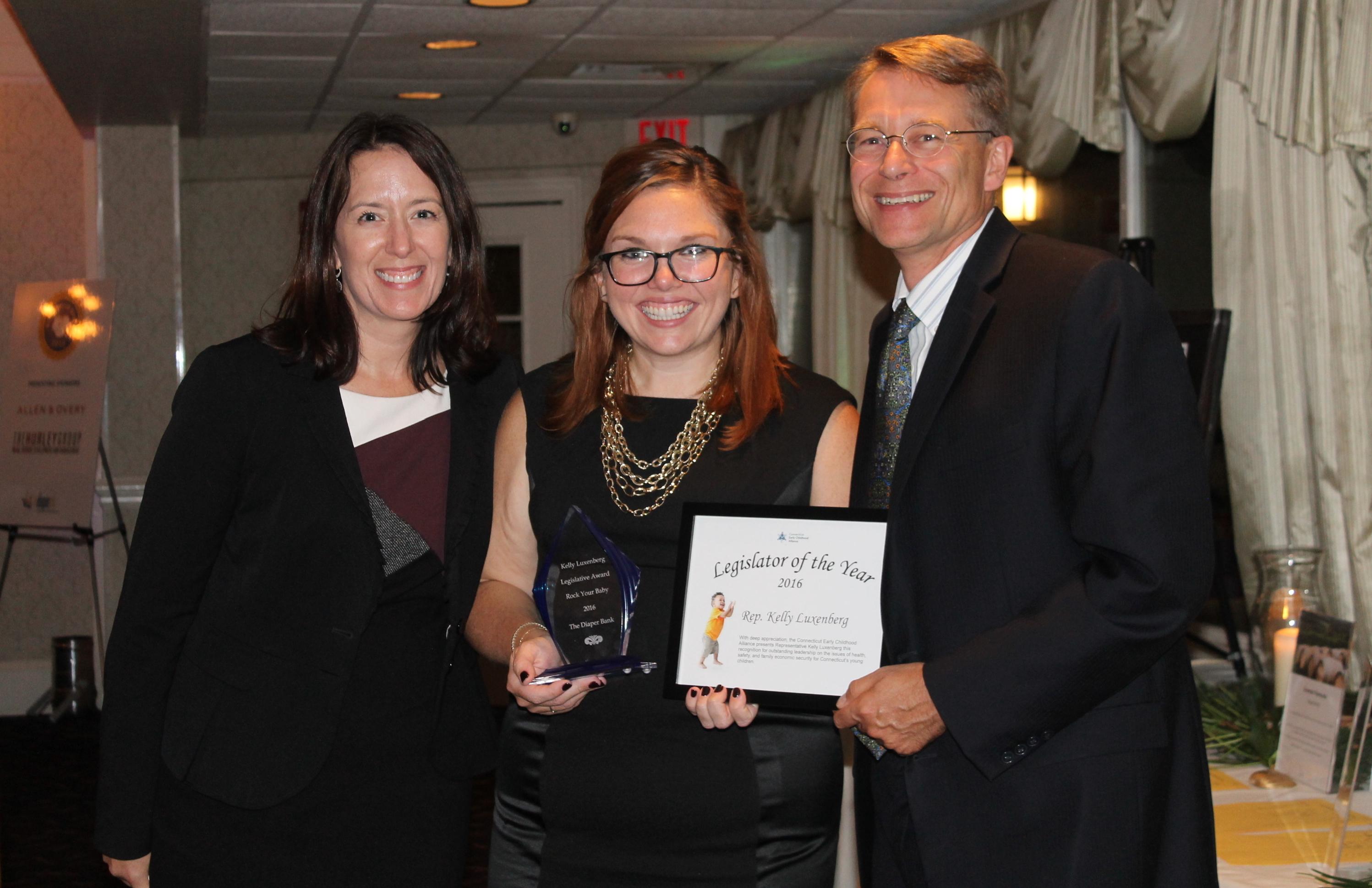 Rep. Kelly Luxenberg, Legislator of the Year