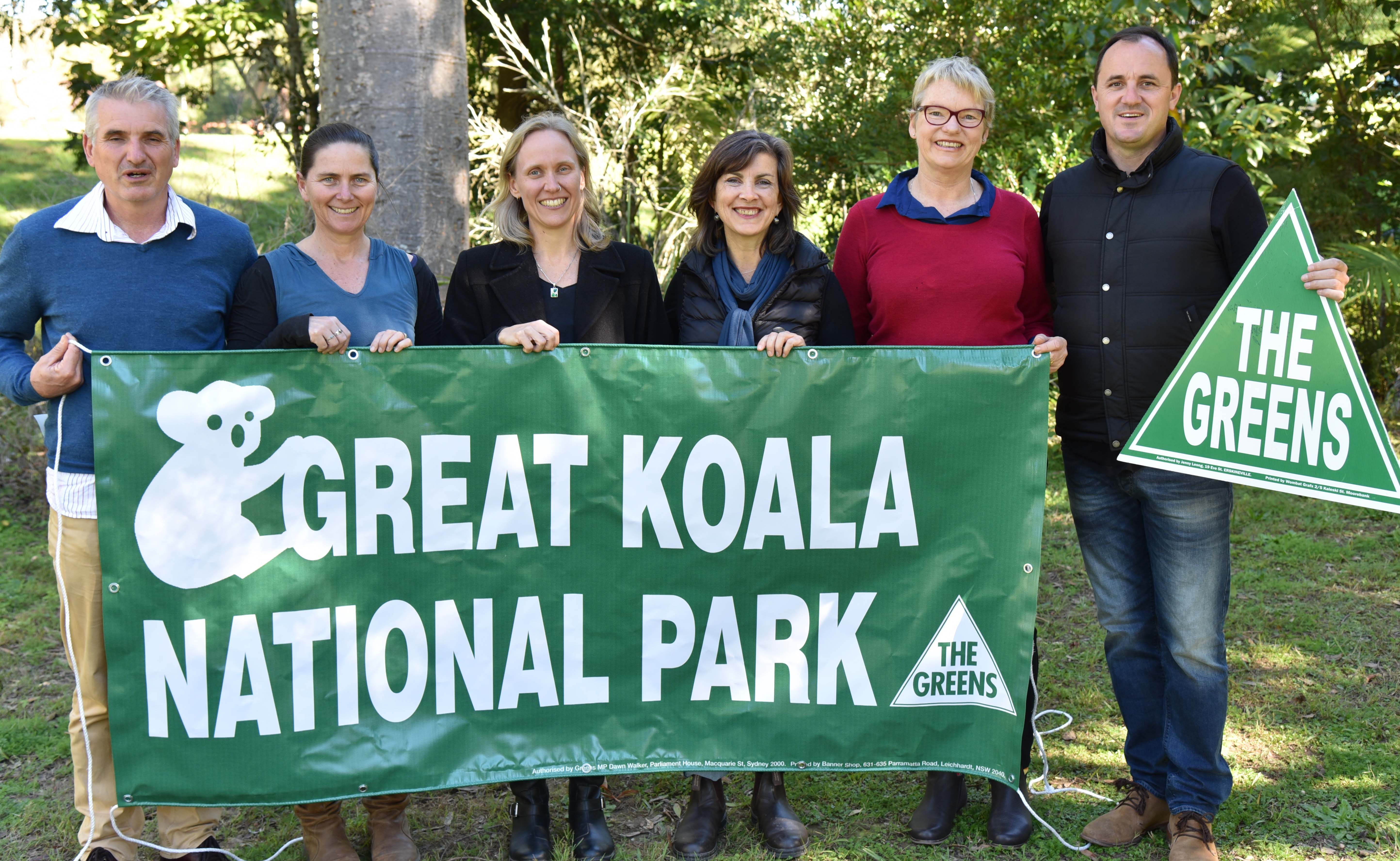 Greens call for Great Koala National Park - Dawn Walker MP