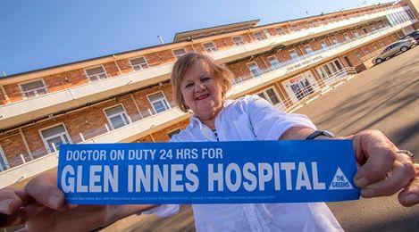 Glen Innes community call for 24hr Doctor on Duty - Dawn Walker MP