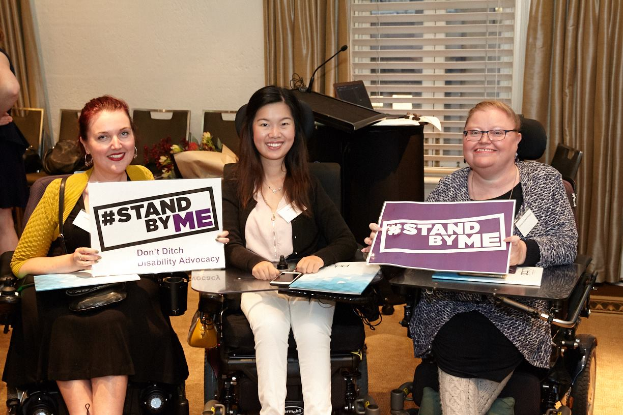Greens and Disability Advocacy Alliance rally against 'heartless' disability advocacy cuts  - Dawn Walker MP