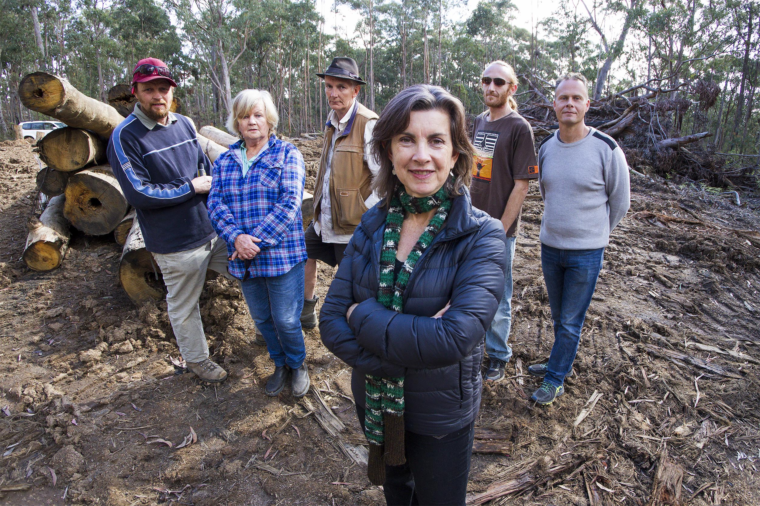 Greens MP visits New England region to call for  an end to Native Forest Logging - Dawn Walker MP